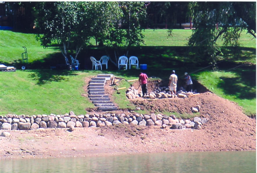 1 landscaping water front landscaping ideas pictures for Lakefront landscaping photos